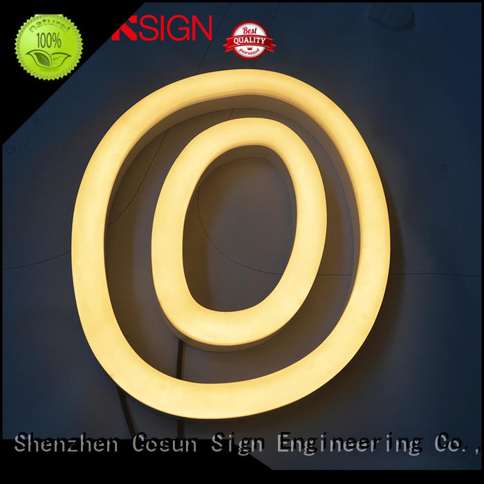 COSUN hot-sale neon logo for business check now