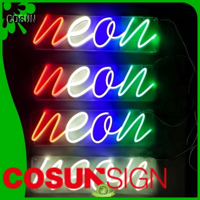 COSUN High-quality fluorescent signs Suppliers for warning