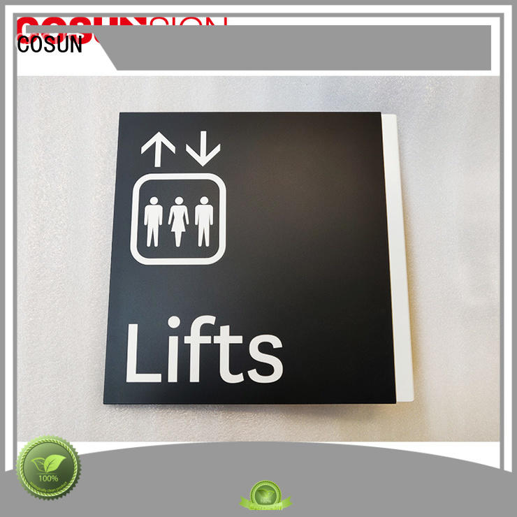 COSUN Wholesale i do door sign manufacturers for warning