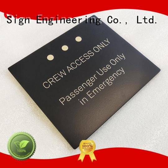 COSUN acrylic door signs for wholesale