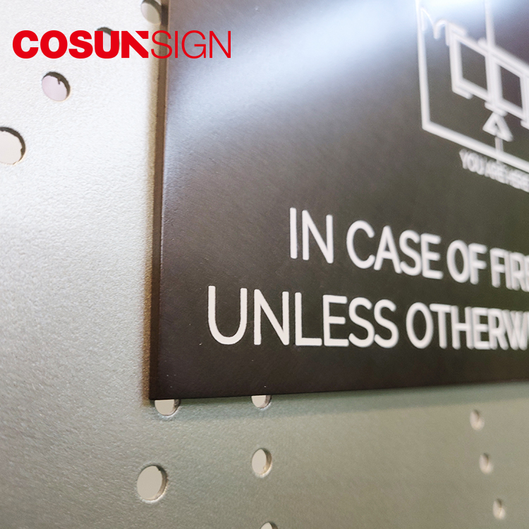 COSUN logo custom cheap office signs for business for door-11