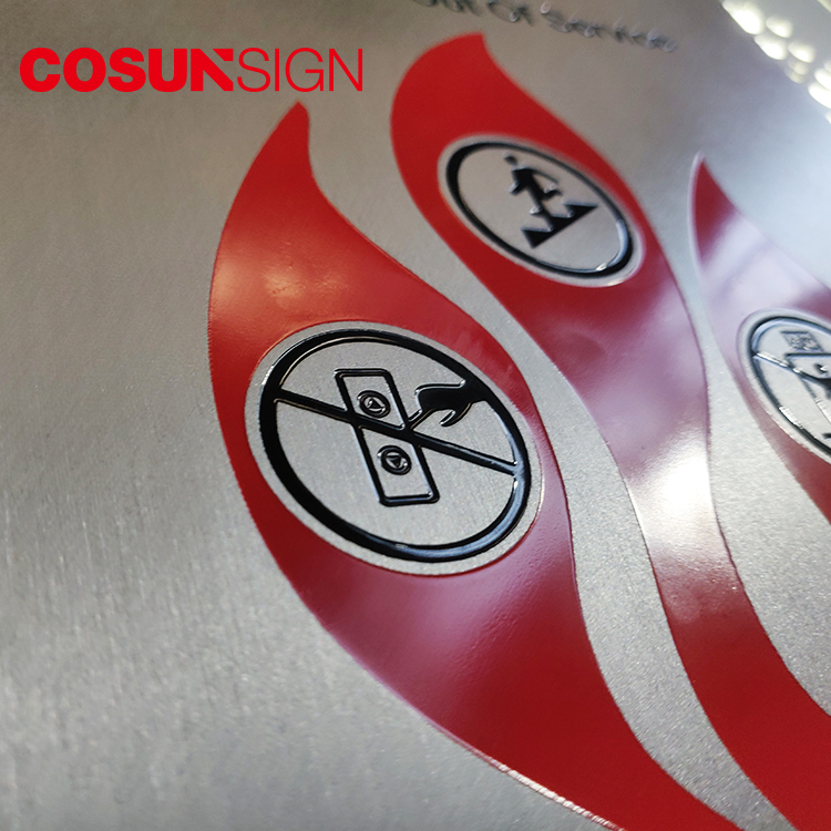 COSUN etched plastic door signs for offices Supply for warning-5