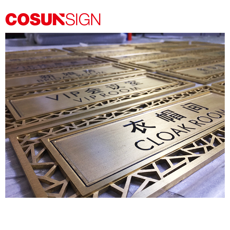 COSUN all size office door number signs manufacturers for wholesale-5