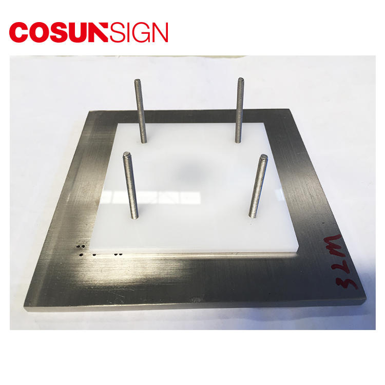COSUN cnc aluminum gaming door sign Suppliers for warning