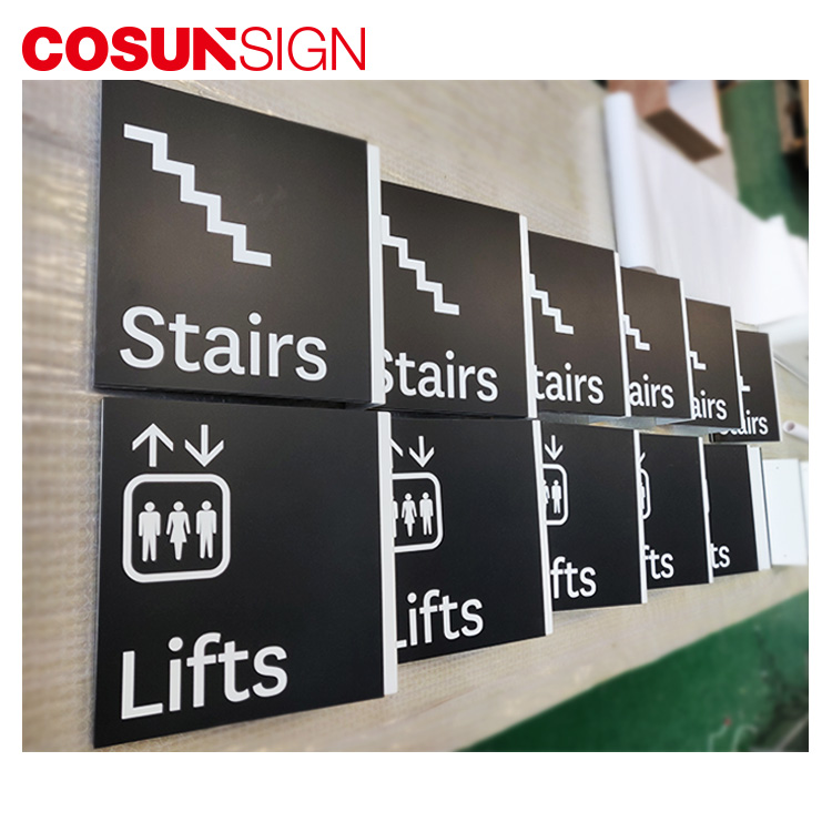 COSUN Best personalized office door name plates Supply for decoration-11