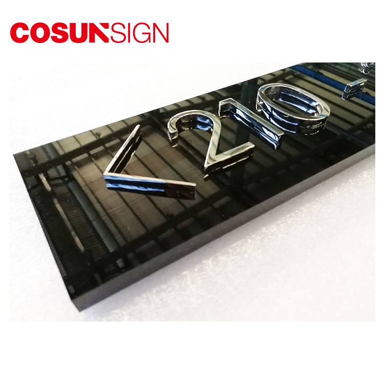 COSUN Custom auto door signage factory for warning-5