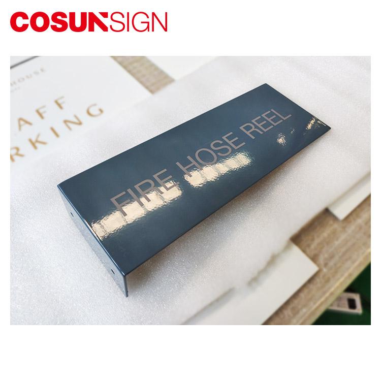 COSUN cnc aluminum office door name factory house decoration-1
