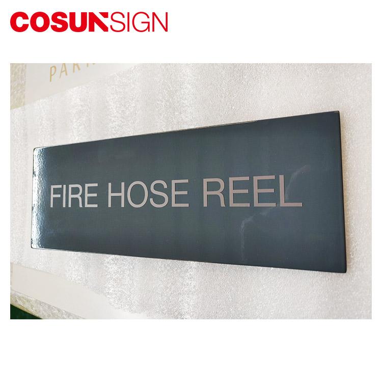 COSUN cnc aluminum office door name factory house decoration-2