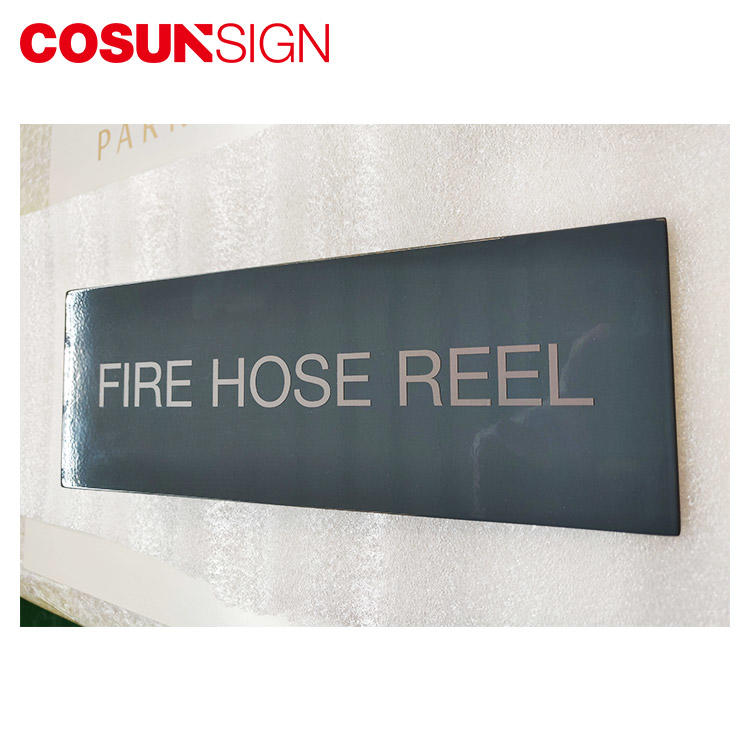 Cosun Painted Surface Customized Name Plate
