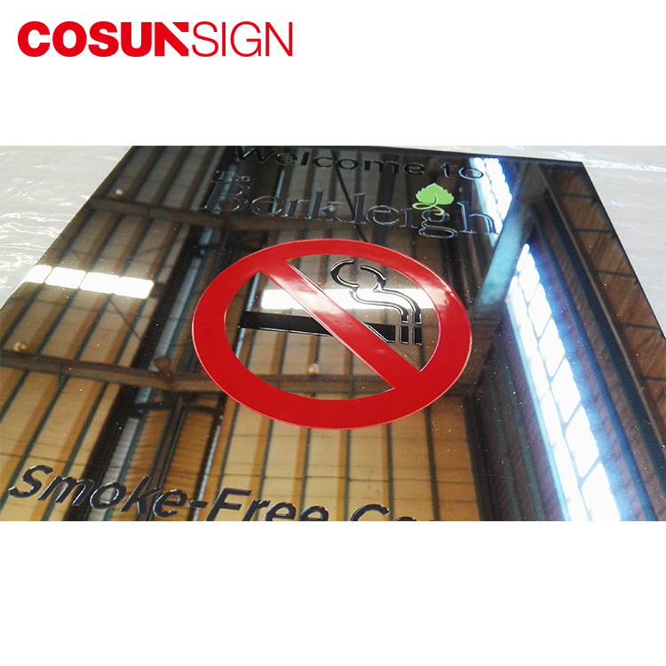 COSUN New glass office signs manufacturers house decoration-8