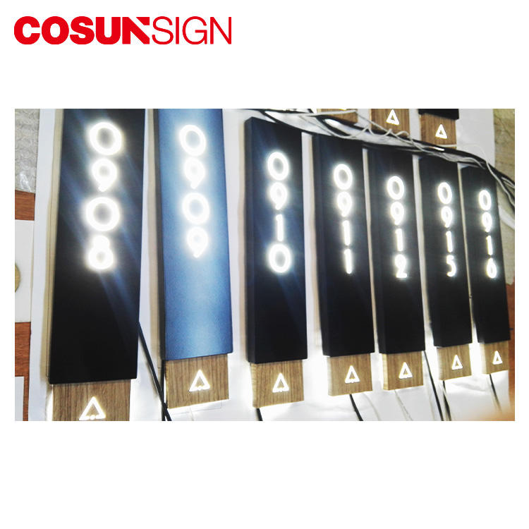 Cosun Odm Available Energy Saving Door Plate
