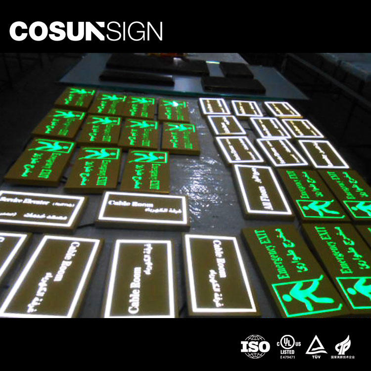 Cosun Stainles Steel Large Capacity Emergency Sign Light