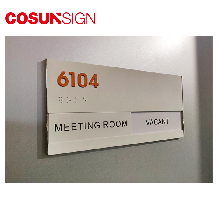 COSUN etched antique door signs Supply for shop-5