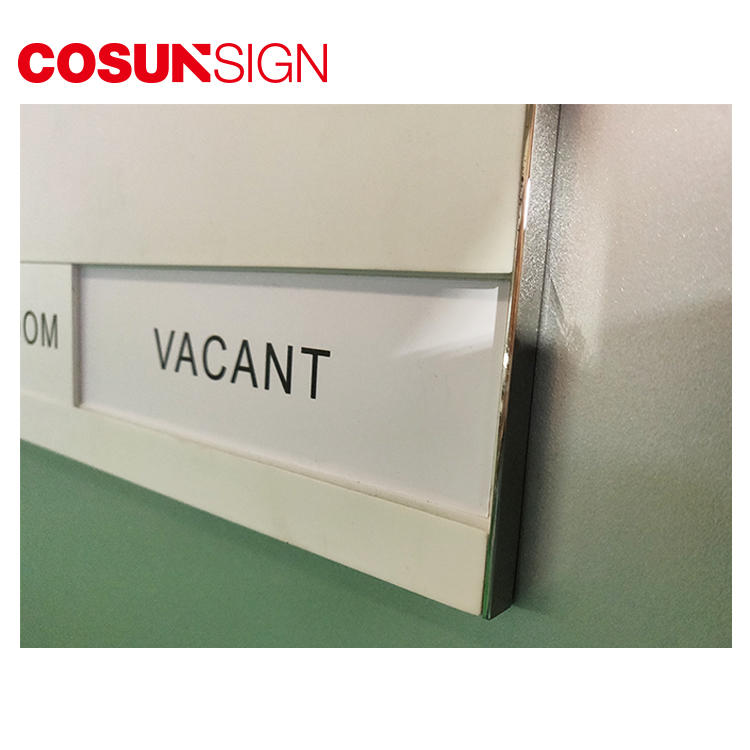 Cosun All Size Acrylic Thermoforming Name Sign