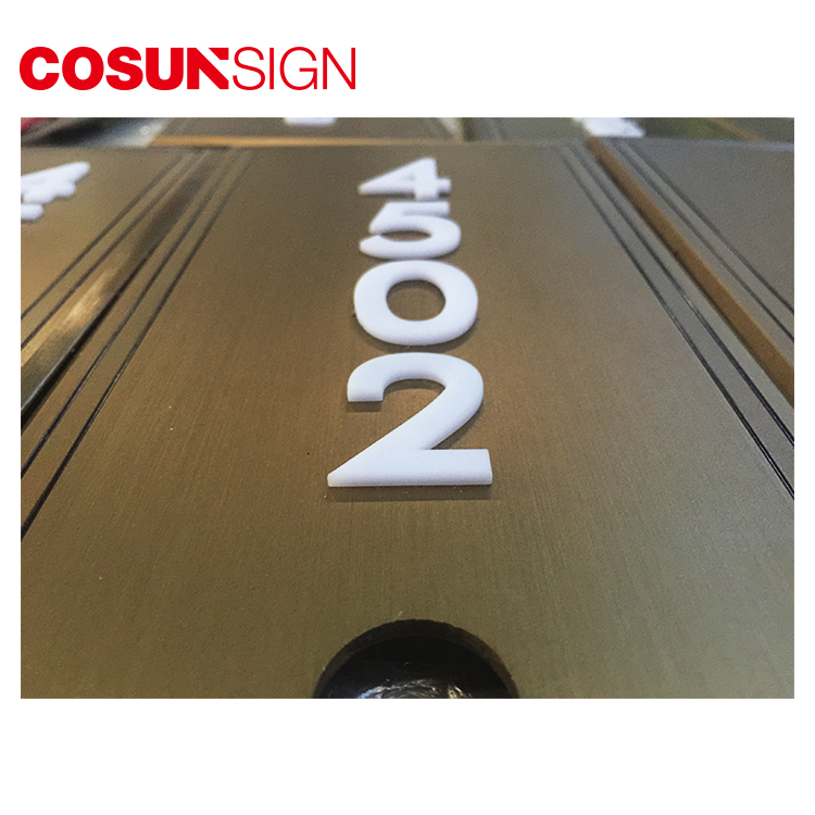 COSUN Best door signs perth factory for warning-8