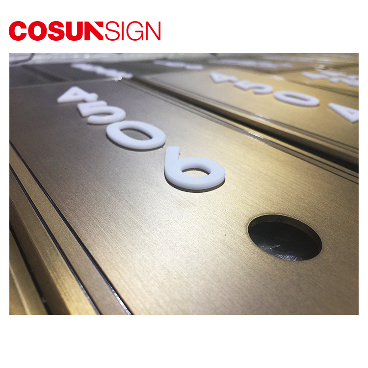 COSUN Best door signs perth factory for warning-5