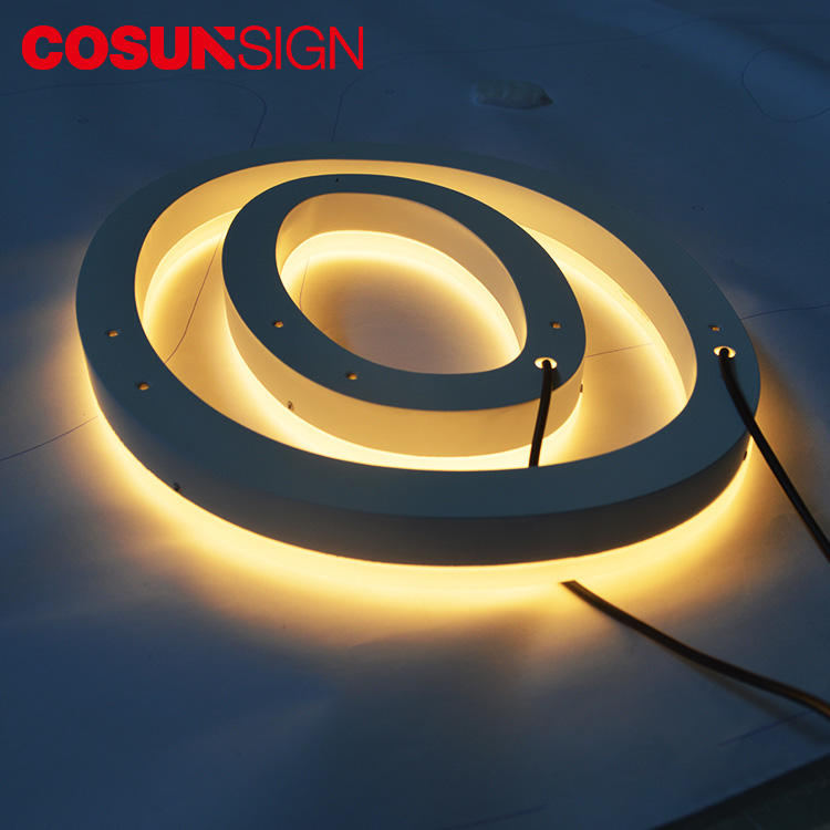 COSUN Best Quality Led Light Halo Pinball Neon Sign