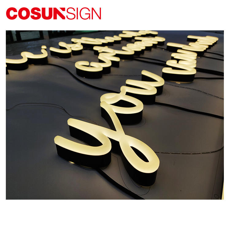 eye-catching led neon light sign hot-sale for promotion COSUN