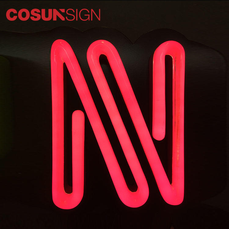 Custom Led Neon Sign Fast Delivery Stainless Steel Personalized