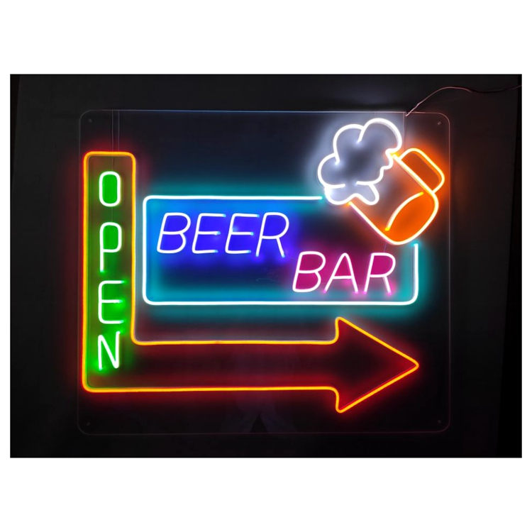 COSUN hot-sale black neon sign for business for hotel-1