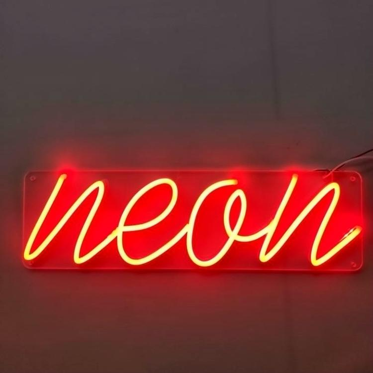 Melting Heart Shape Neon Signs No Minimum Ul Certified