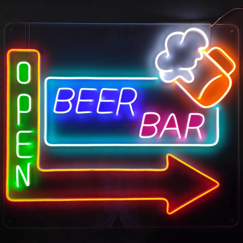 Custom lighted home bar signs hot-sale company for promotion-5
