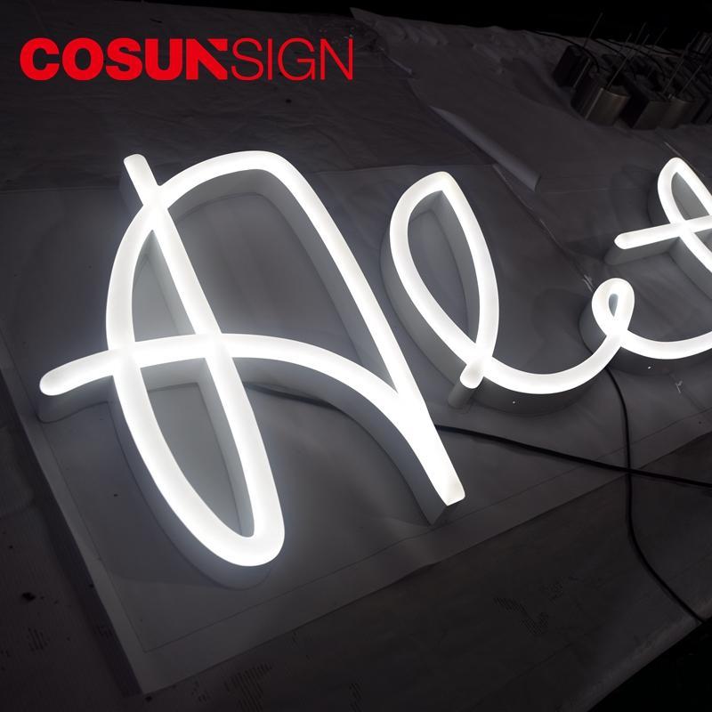 The Best Wholesale Halo-Lit Illuminated Rock & Roll Neon Sign