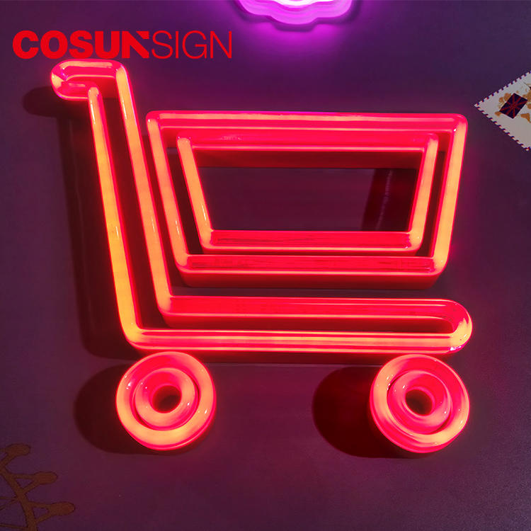 Car Neon Sign Free Sample Clear Acrylic Customized Available