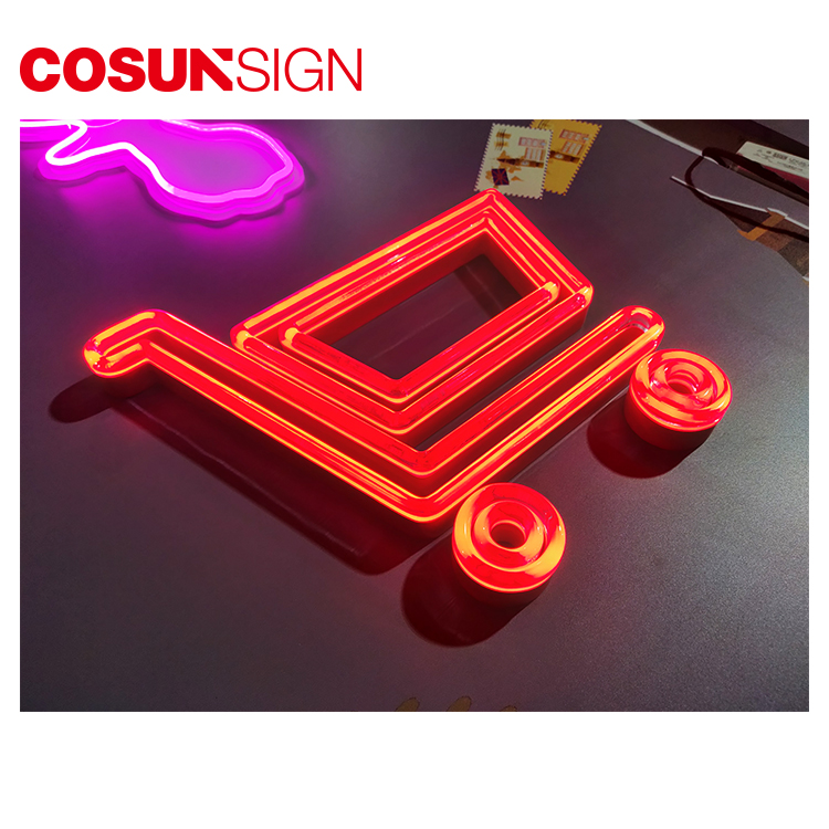 COSUN popular yellow neon sign manufacturers for house-2