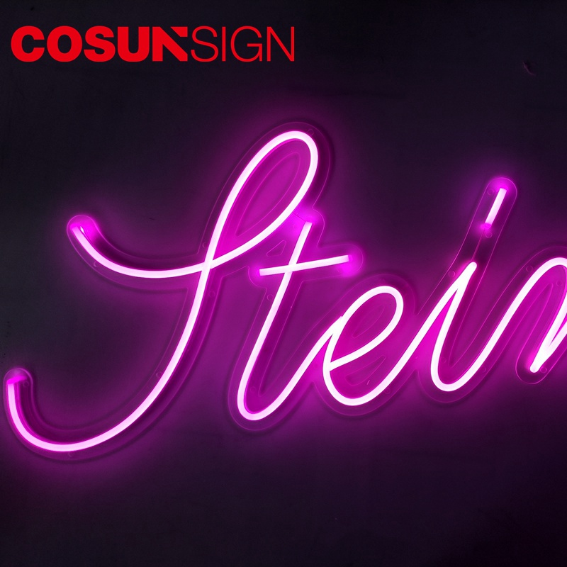 COSUN eye-catching neon light designer for business-11