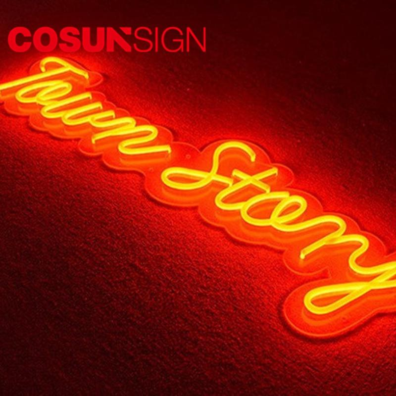 Chinese Neon Sign Cosun Ul Certified Indoor Usage Hang