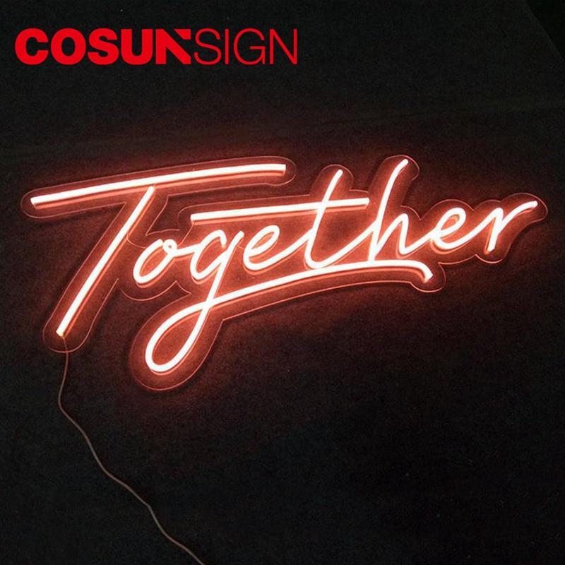 Carlsberg Neon Sign Cosun 100% Achieve Personalized Energy Saving