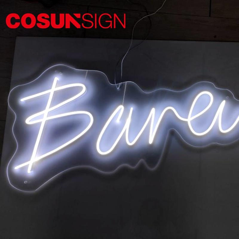 COSUN on-sale personalized neon light signs Supply for warning