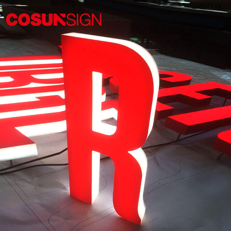 3D Letter Acrylic Cosun High Quality Laser Cutting Manufacturer