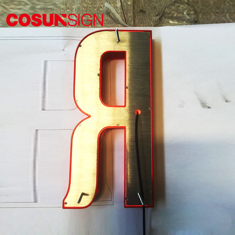 COSUN clear letter digital signature free sample for shop-5
