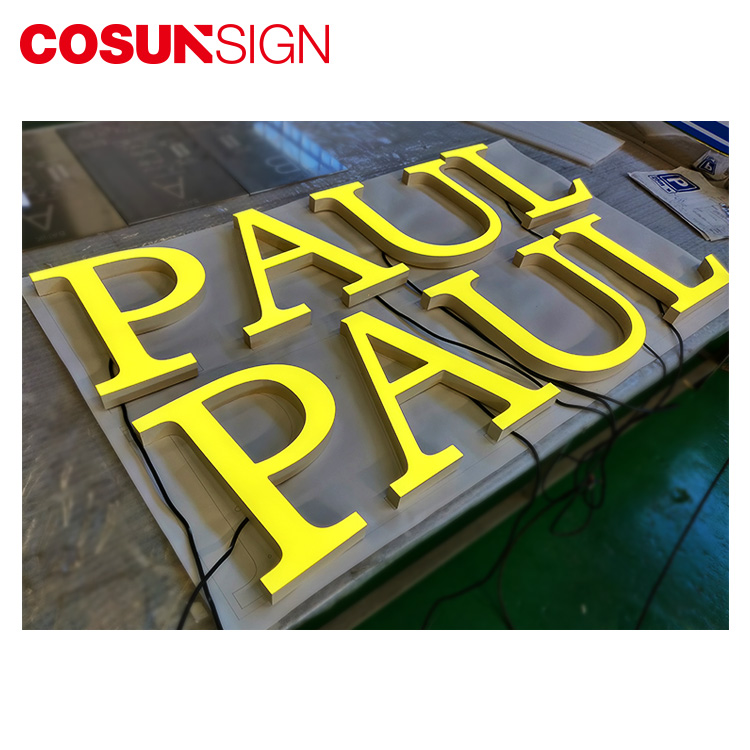 COSUN Custom plastic standing sign holders manufacturers for pub club-11