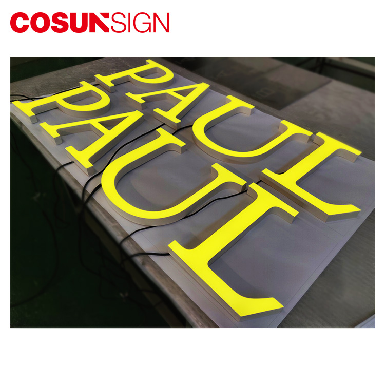 COSUN Custom plastic standing sign holders manufacturers for pub club-5
