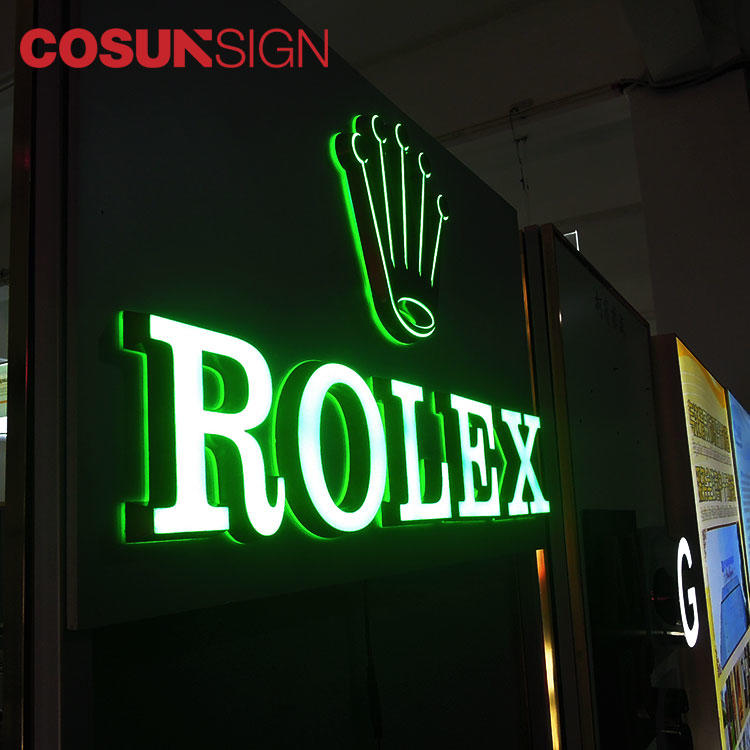 Led Illuminated Acrylic Letter Cosun Iso Certificate Weld Supplier