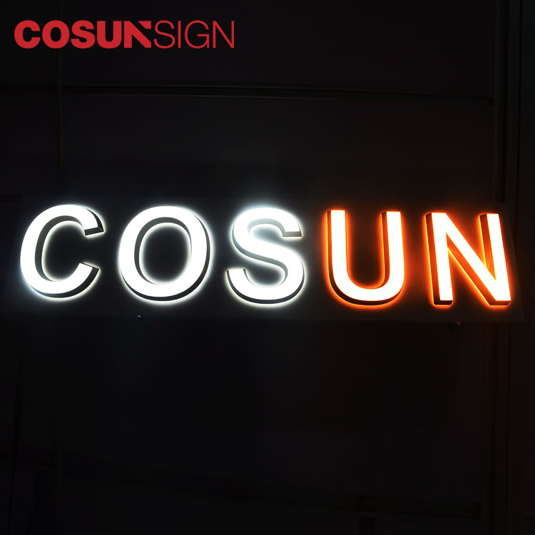 COSUN clear letter cheap business signs for restaurant-8