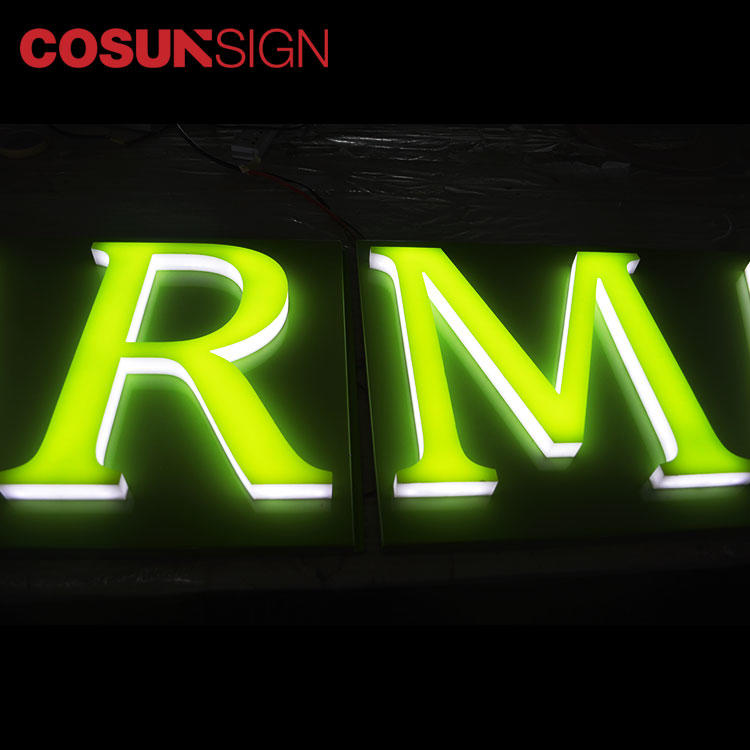 Transparent 3D Plastic Acrylic Letter Cosun Factory Price Display Manufacturer