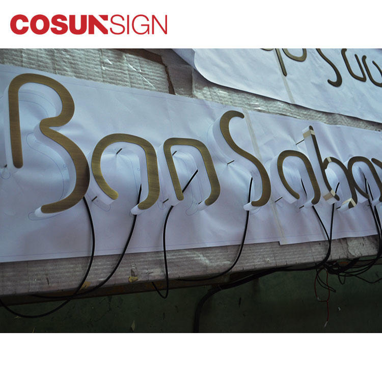 COSUN led base sale sign holders at discount for restaurant