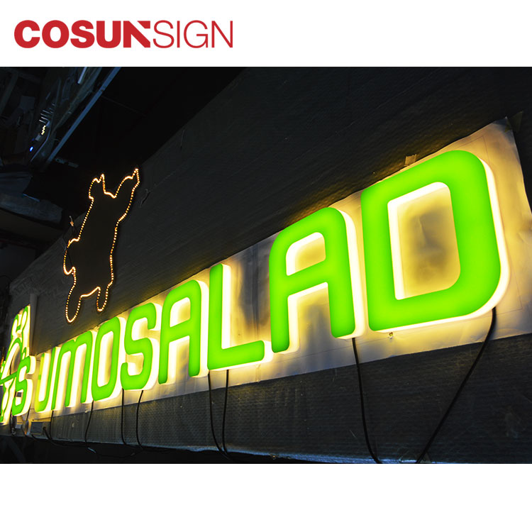 COSUN clear letter digital signature free sample for shop-11