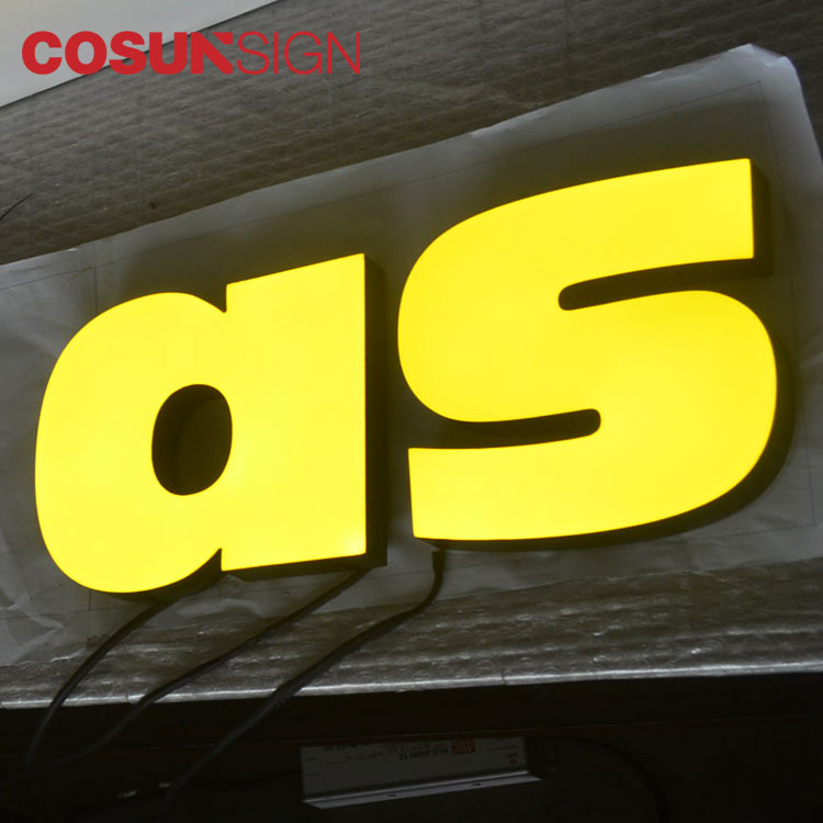 COSUN led base aluminum sign holder manufacturers for pub club-5