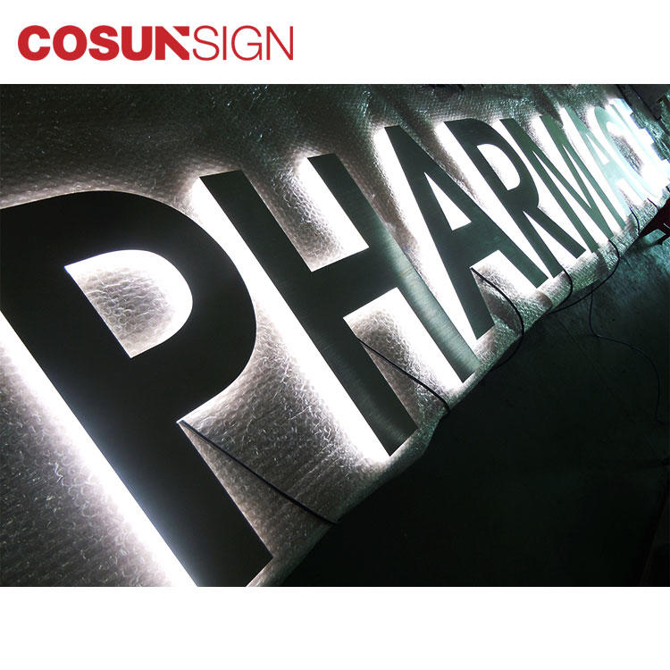 Frosted Acrylic Plexiglass Backlit Sign Cosun Professional Factory Supplier