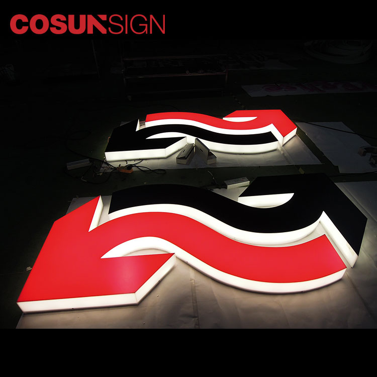 COSUN clear letter acrylic light boxes inquire now-2