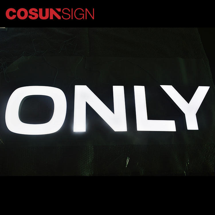 COSUN clear letter elevator sign holder factory for restaurant