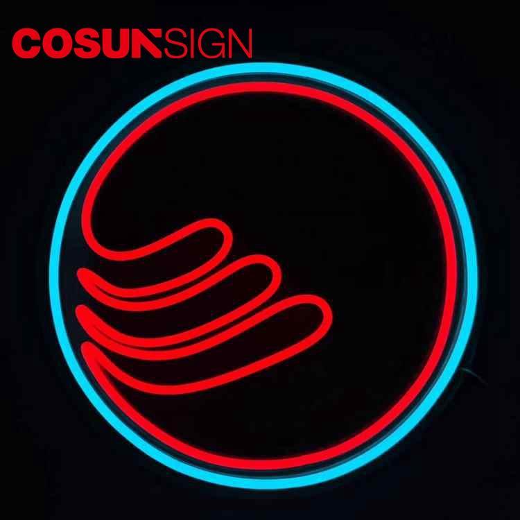 Neon Signs Pizza Cosun Ul Certification Barber Shop Illuminate