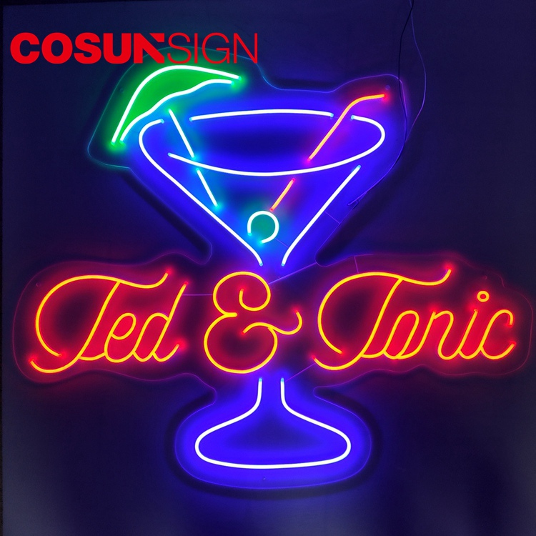 COSUN Custom where to buy neon for business for promotion-8