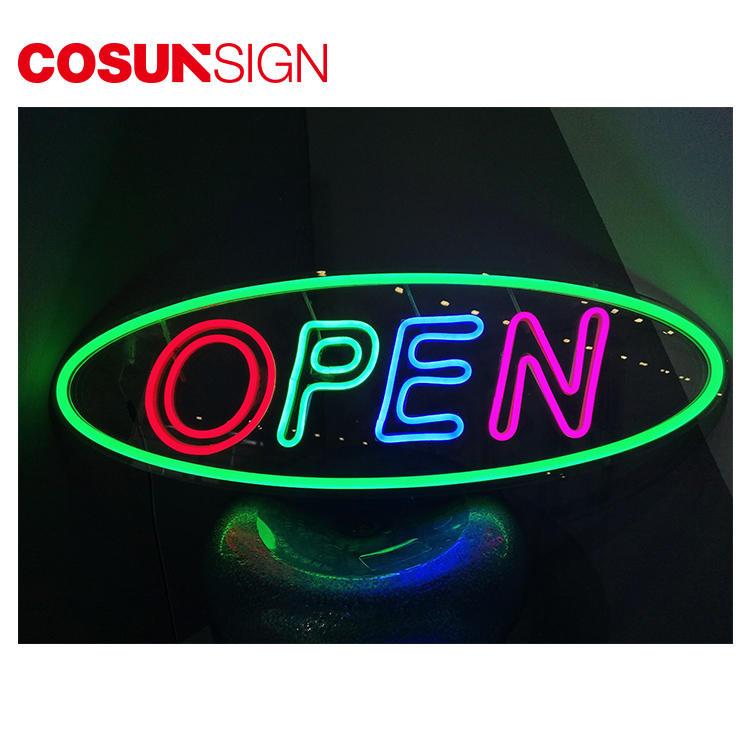 Bar Open Neon Sign Latest Innovative Acrylic Customized Shape
