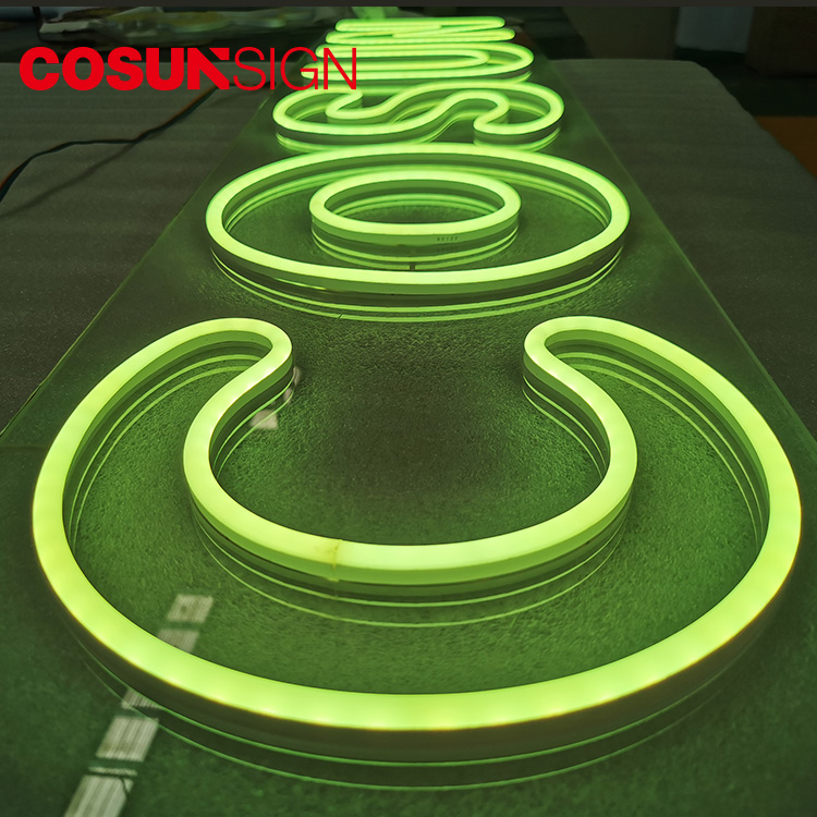 COSUN on-sale neon word lights for sale factory for warning-5